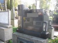 Urnový hrob v Ostravě